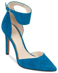 Jessica Simpson | Blue Cita Two-piece Pumps | Lyst