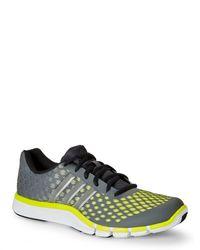 Lyst Adidas Grey & Giallo Adipure Gli Scarpe In Grigio Per Gli Adipure Uomini. 19c280