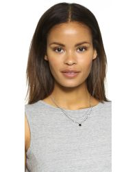 Chan Luu | Black Beaded Layered Necklace | Lyst