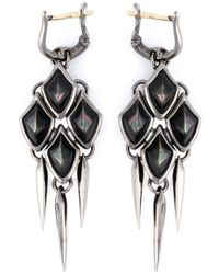Stephen Webster | Black Small 'superstone' Earrings | Lyst