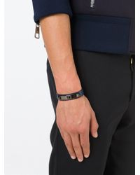 Valentino | Blue 'rockstud' Bracelet for Men | Lyst