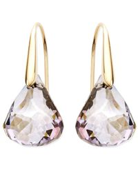 Swarovski | Pink Lunar Blush Crystal Drop Earrings | Lyst