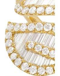 Anita Ko - Metallic Leaf 18-Karat Gold Diamond Ring - Lyst