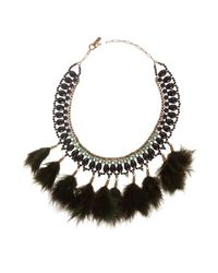 Étoile Isabel Marant | Green Short Feather Necklace | Lyst