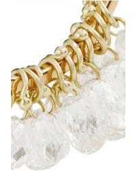 Inez & Vinoodh - Metallic 18-Karat Gold Diamond Interlinked Rings - Lyst