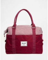 Herschel Supply Co. | Red Strand Holdall 18l for Men | Lyst