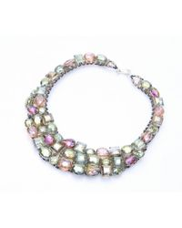 Nakamol - Multicolor Stella Necklace-Green - Lyst