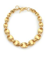 Vaubel | Metallic Solid Ships Chain Necklace | Lyst