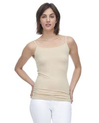 Rebecca Taylor | Natural Lily Seamless Cami | Lyst