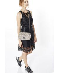Liu Jo | Gray 'queens' Small Crossbody Bag | Lyst