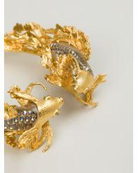 Alexander McQueen | Metallic Fish Choker | Lyst
