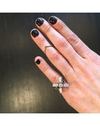 DANNIJO | Metallic Astrid Midi Ring | Lyst