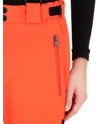 EA7 | Orange Nylon Water Resistant Ski Pants for Men | Lyst