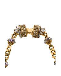 Erickson Beamon - Metallic Damsel Necklace - Lyst