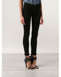 Citizens of Humanity | Black Amber Mid-rise Bootcut Jeans | Lyst