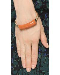 Jason Wu - Lauren Enameled Bracelet - Burnt Orange - Lyst
