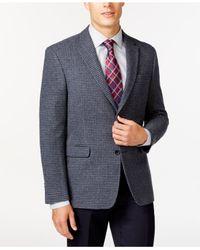 Tommy Hilfiger | Gray Houndstooth Sport Coat for Men | Lyst