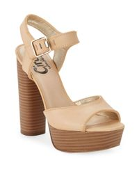 cf6e2cefd8f Lyst - Circus By Sam Edelman Cosmo Platform Sandals in Purple