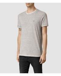 AllSaints - White Colton Baltis Crew T-shirt for Men - Lyst