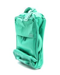 "Lipault - Blue Foldable 22"" Wheeled Carry On Bag - Teal - Lyst"