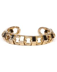 Elizabeth Cole | Metallic Natalie Bracelet, Gold | Lyst