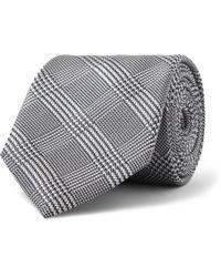 Brioni | Blue Woven Silk Tie for Men | Lyst