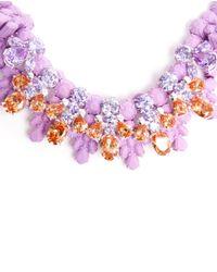 EK Thongprasert - Purple Nemesia Sunsatia Embellished Silicone Necklace - Lyst