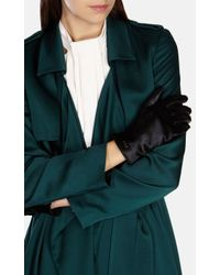 Karen Millen - Black Pony Glove - Lyst