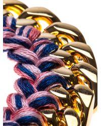 Aurelie Bidermann | Metallic 'do Brasil' Bracelet | Lyst