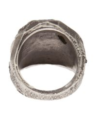 Beth Orduna - Metallic Faceted Dome Ring - Lyst