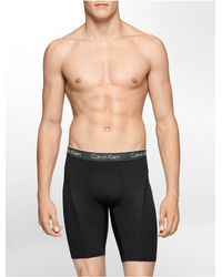 Calvin Klein - Black Underwear Air Micro Cycle Short for Men - Lyst