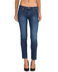 D-ID - Blue Florence Cropped Jeans - Lyst