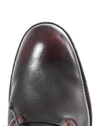 John Varvatos | Brown Leather Chukka Boot for Men | Lyst