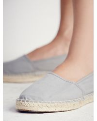 Free People | Gray Natural World Womens Natural Eco Espadrille | Lyst