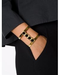 Lizzie Fortunato - Yellow 'pebble' Bracelet - Lyst