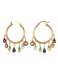 Wendy Mink | Multicolor Multi-stone Hoops | Lyst