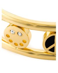 Marc By Marc Jacobs   Black Charm Bangle   Lyst