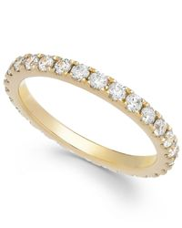 Arabella | Metallic Swarovski Zirconia Infinity Band In 14K Gold | Lyst