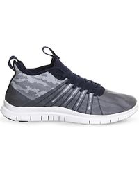 Nike | Gray Free Hypervenom 2 Trainers for Men | Lyst