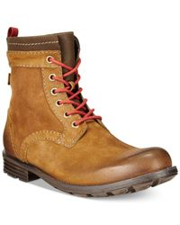 Clarks | Brown Darian Hi Boots for Men | Lyst