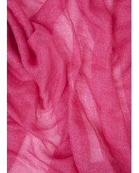 Franco Ferrari - Pink Geranio Fuchsia Scarf - Lyst