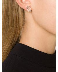 Melissa Joy Manning | Gray Stud Earrings | Lyst