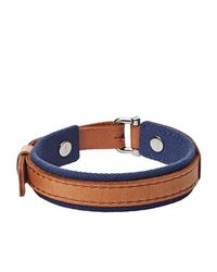 Fossil | Blue Jf01850040 Mens Bracelet for Men | Lyst