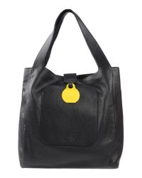 MM6 by Maison Martin Margiela - Black Handbag - Lyst