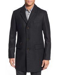Ted Baker | Gray 'alamo' Modern Slim Fit Three-button Topcoat for Men | Lyst
