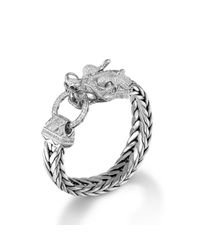 John Hardy | Metallic Legends Naga Dragon Head Bracelet for Men | Lyst