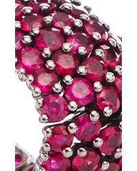Sidney Garber - Pink Ruby Flexible Ring - Lyst