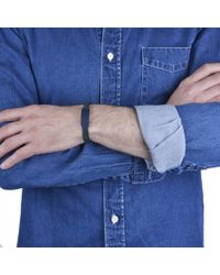 JvdF | Blue Id Navy And Teal Bracelet | Lyst