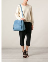 Givenchy - Blue Pandora Box Shoulder Bag - Lyst