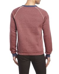 Alternative Apparel | Red Pipeline Champ Sweatshirt for Men | Lyst